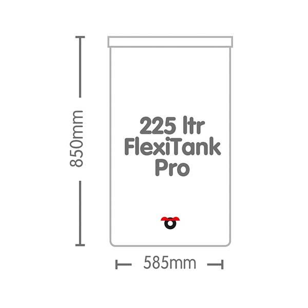 AutoPot 225/l FLEXITANK